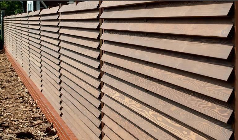 Деревянный забор-жалюзи своими руками - самстрой - строительство, дизайн, архитектура.