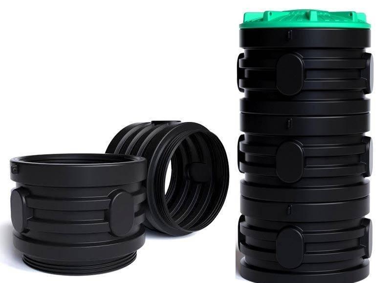 Колодцы канализационные пластиковые: преимущества, типы и особенности монтажа