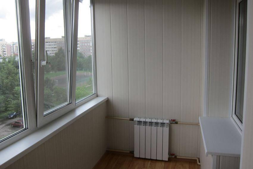 Отопление на балконе. как вывести батарею в лоджию