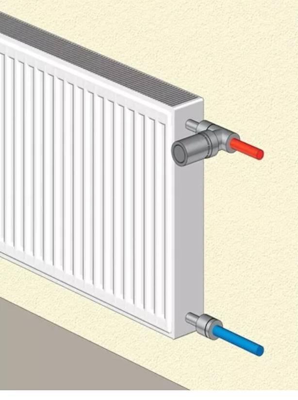 Особенности биметаллических радиаторов с нижним подключением