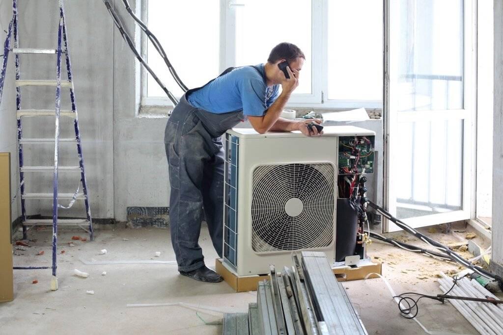 Установка кондиционера в москве — цены на услуги компании «вент-м»   заказать профессиональный монтаж кондиционера в квартире недорого