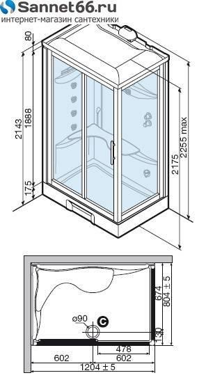 Размеры душевых кабин, как определить удобные размеры именно для вас - самстрой - строительство, дизайн, архитектура.