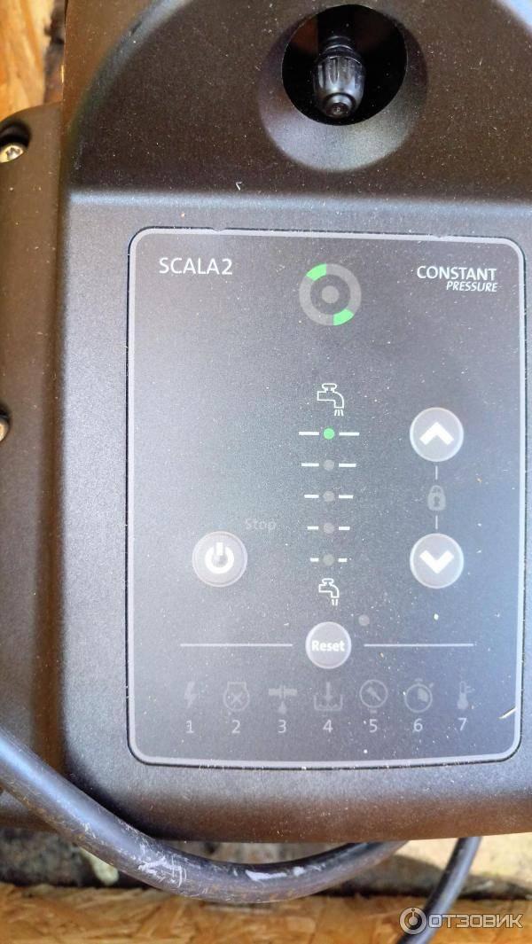 Насосная станция grundfos scala2 (грундфос скала2)