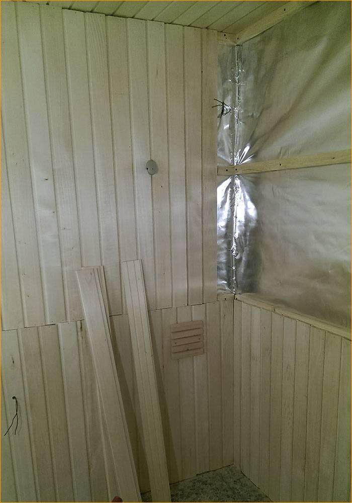 Наружная и внутренняя отделка бани