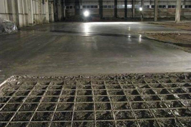 Бетонный пол в гараже: чем покрыть бетонный пол, чтобы не пылил своими руками