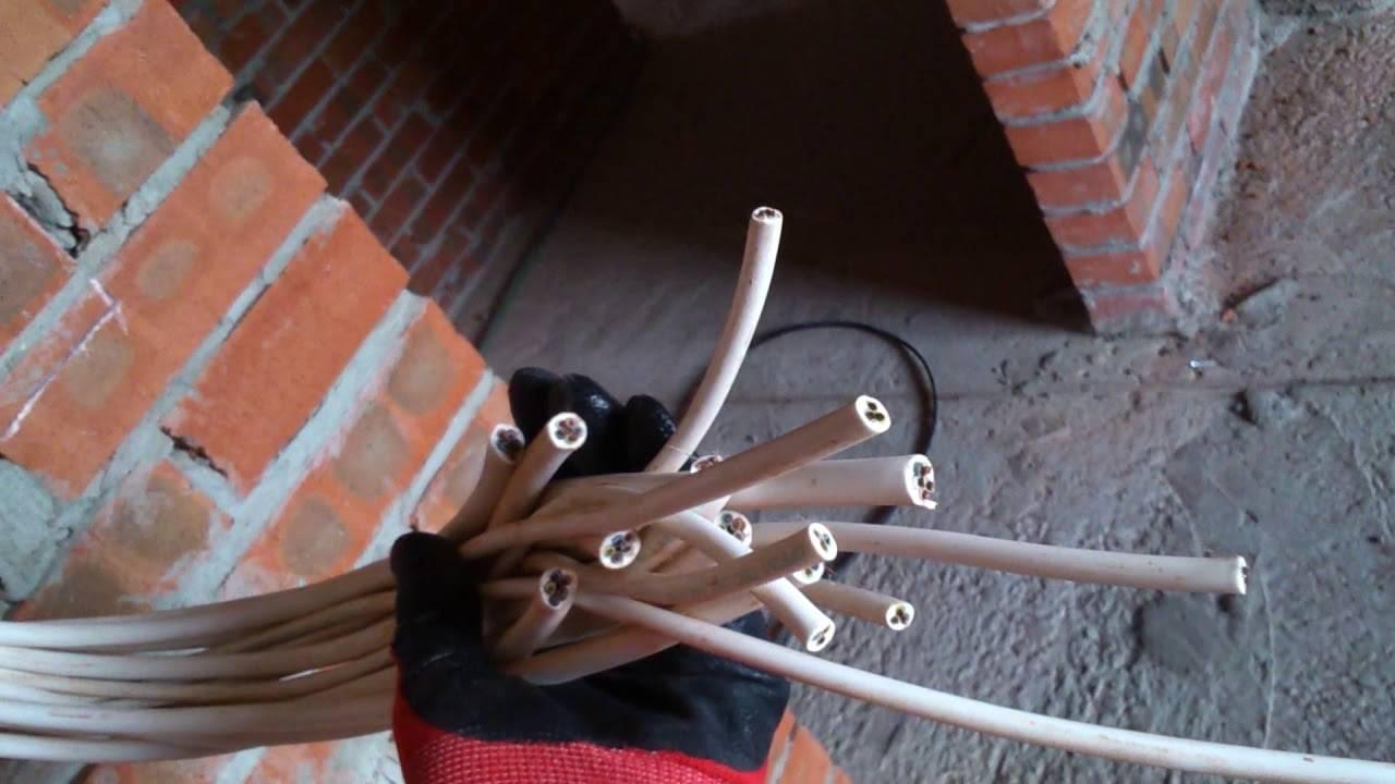 Прокладка проводки проводом пвс или ввг?