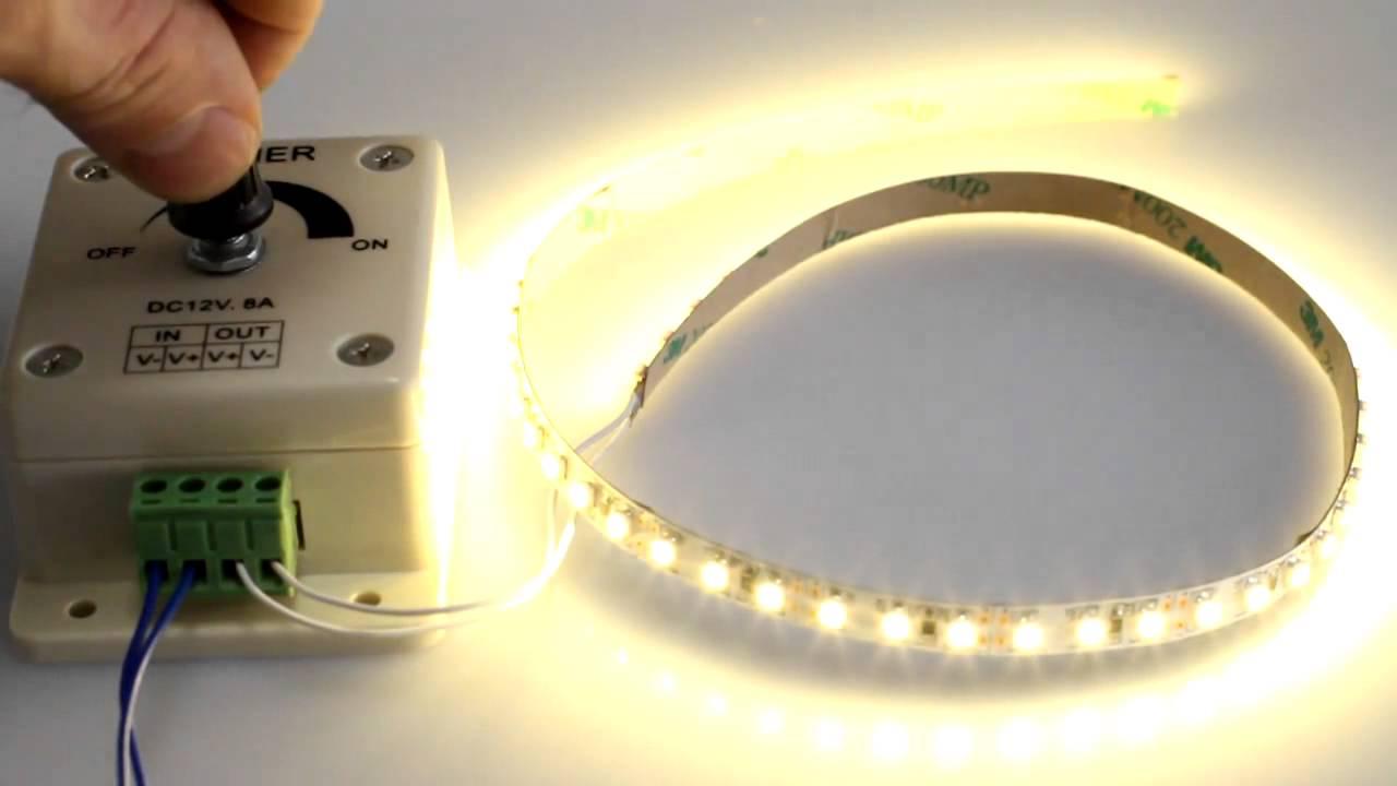 Диммер для светодиодных ламп 220в: как выбрать и подключить