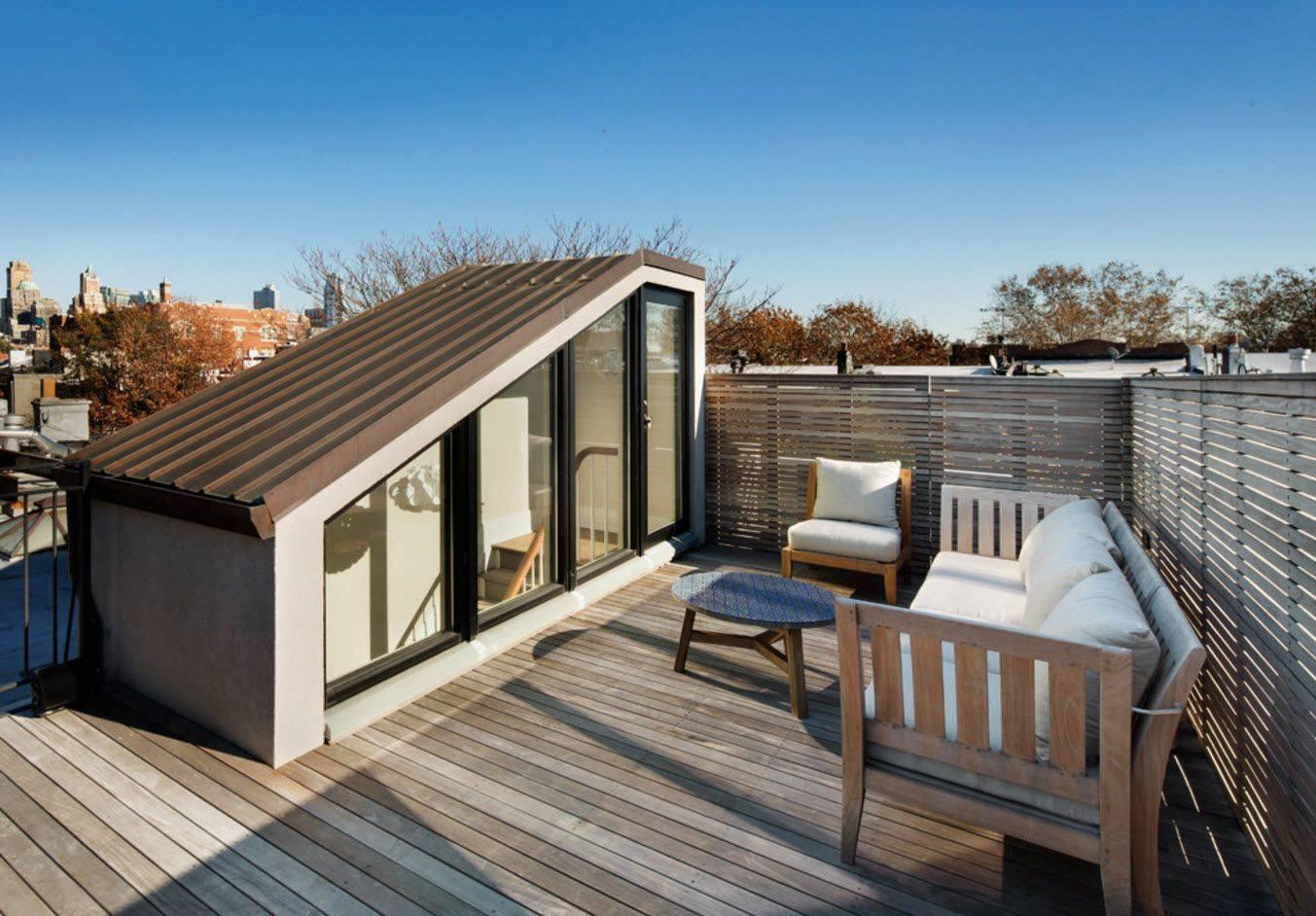 Терраса на крыше дома: технология постройки и советы