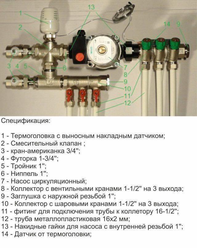 Расчет трубы для теплого пола. методика и онлайн-калькулятор