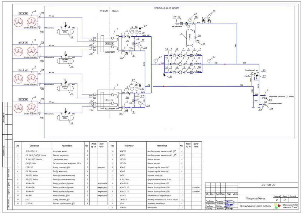 Принципиальная электрическая схема водонагревателя