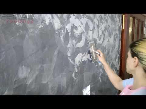 Фактурная покраска стен своими руками: способы нанесения декоративной отделки (фото, мастер-класс)