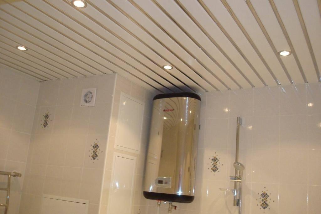 Экологичные потолки в ванной - основные варианты