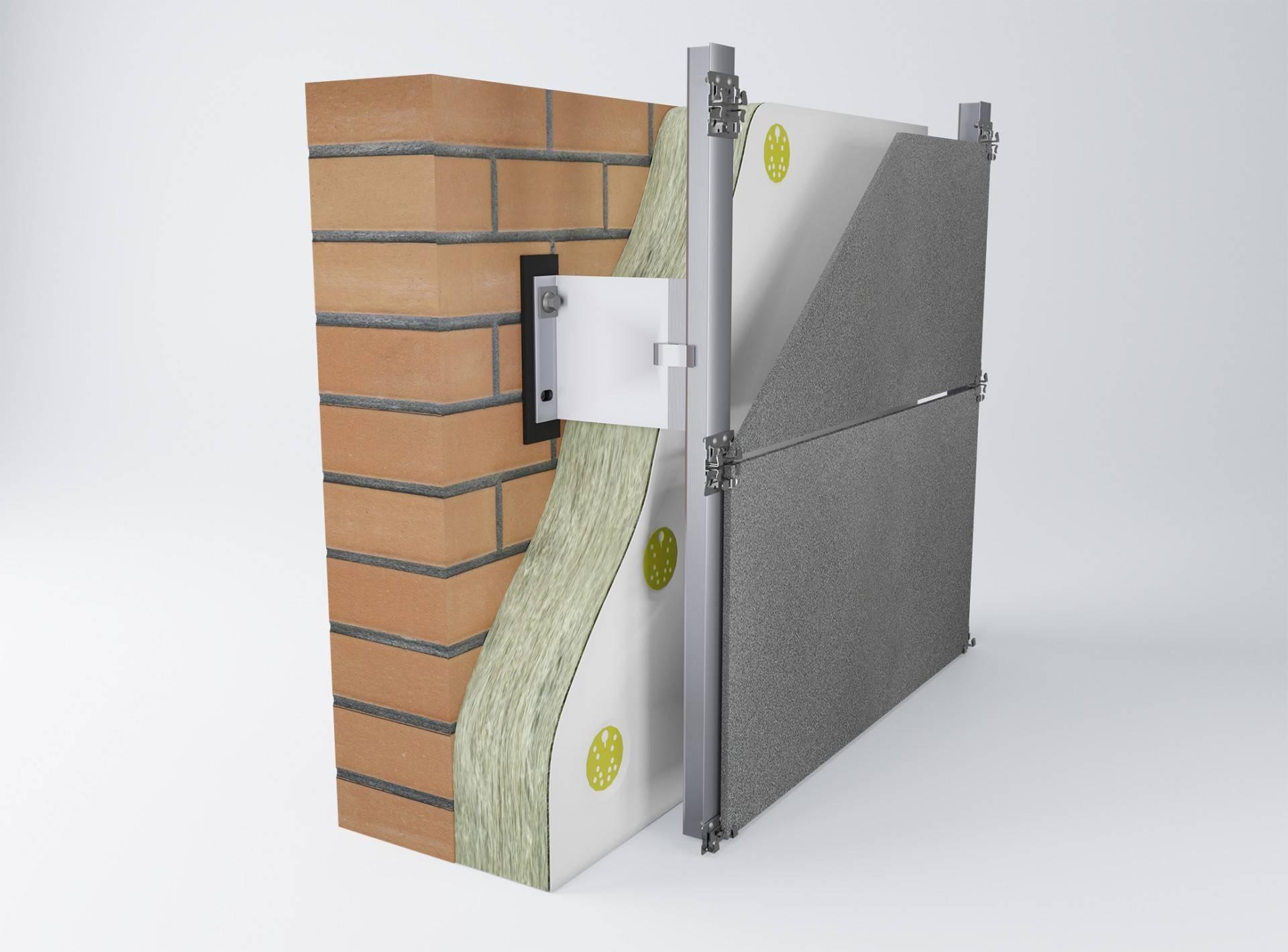 Вентилируемый фасад: устройство и технология для частного дома