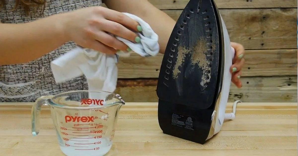 Как почистить утюг в домашних условиях: 10 супер-средств (фото, видео)