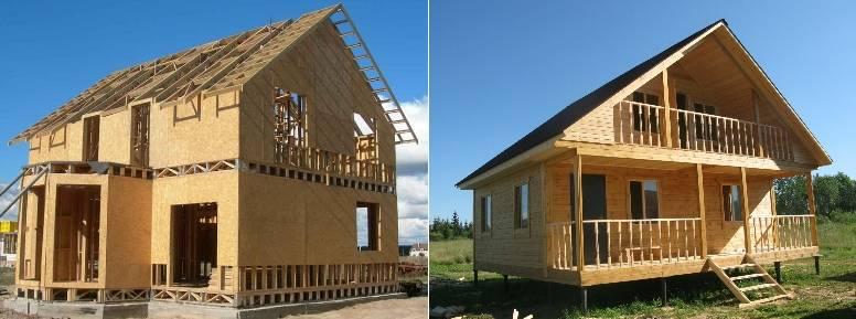 Какой дом лучше - из бруса или каркасный?