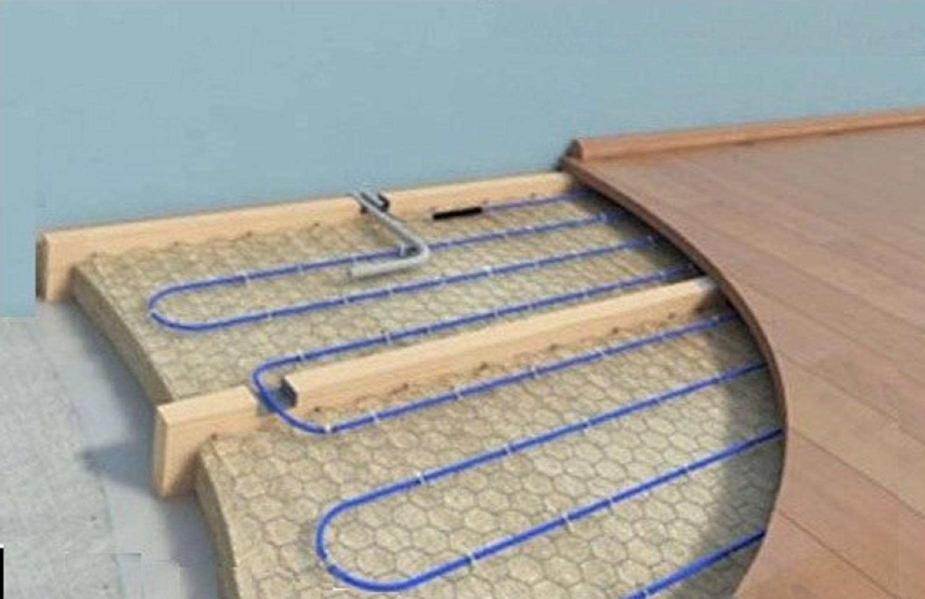 Электрический теплый пол под ламинат, плитку, фото-отчеты + видео