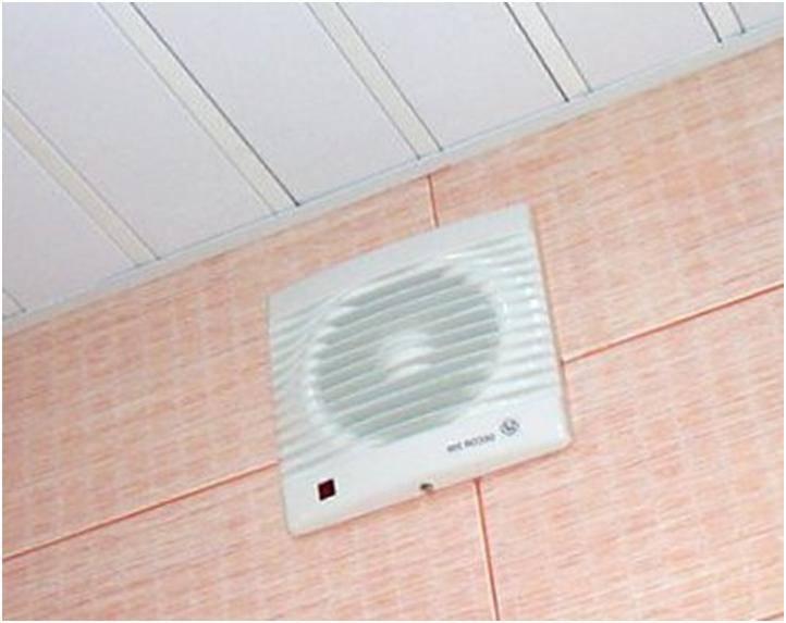 Вентиляция в ванной комнате и туалете: особенности устройства