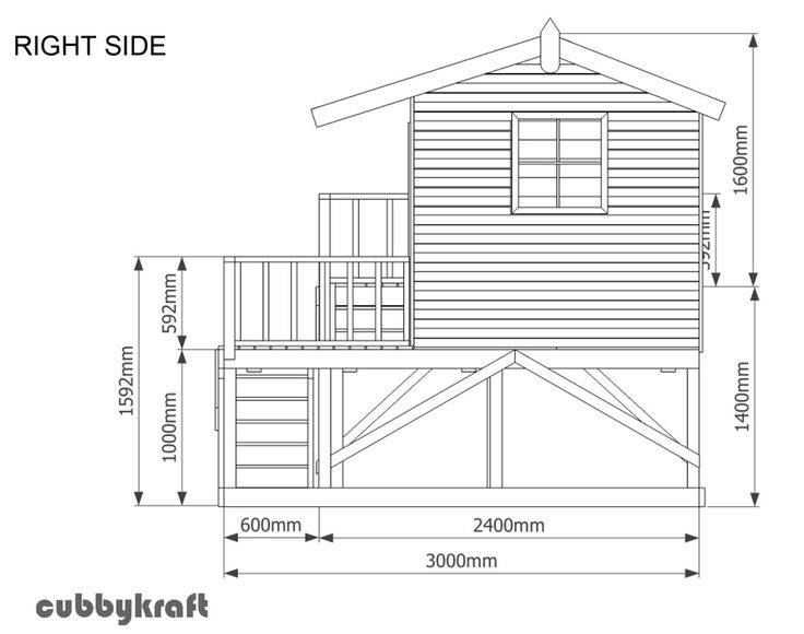 Детский домик своими руками: для дачи деревянный, пошаговая инструкция, фото (55 штук), чертежи, схемы