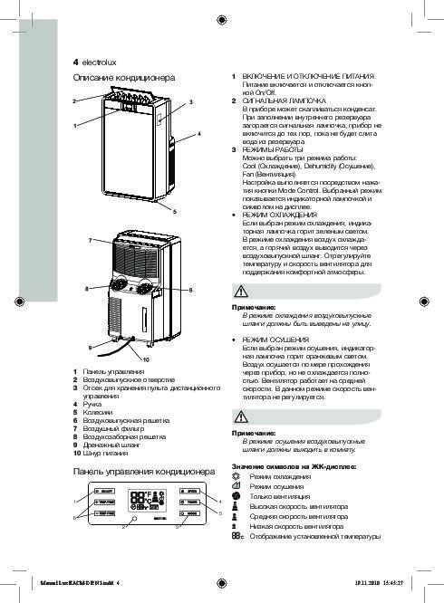 Кондиционеры electrolux: обзор моделей и цены