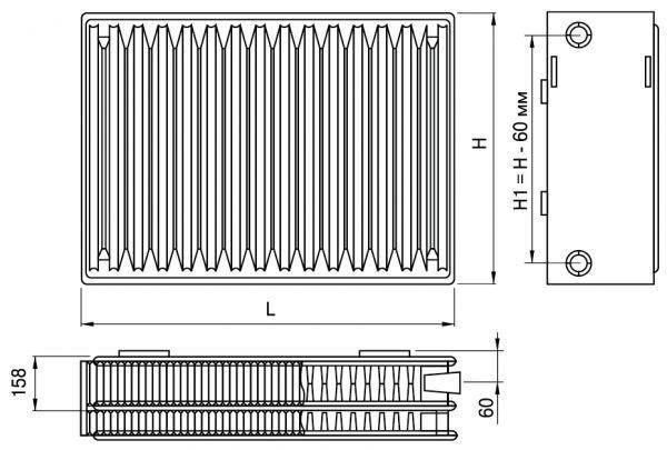 Что такое межосевое расстояние в радиаторах отопления: