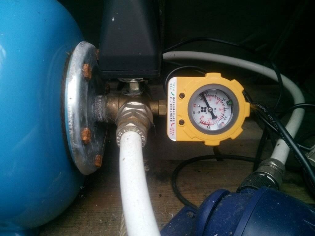 Гидроаккумулятор - принцип работы, устройство, схема, расчет, установка, подключение.