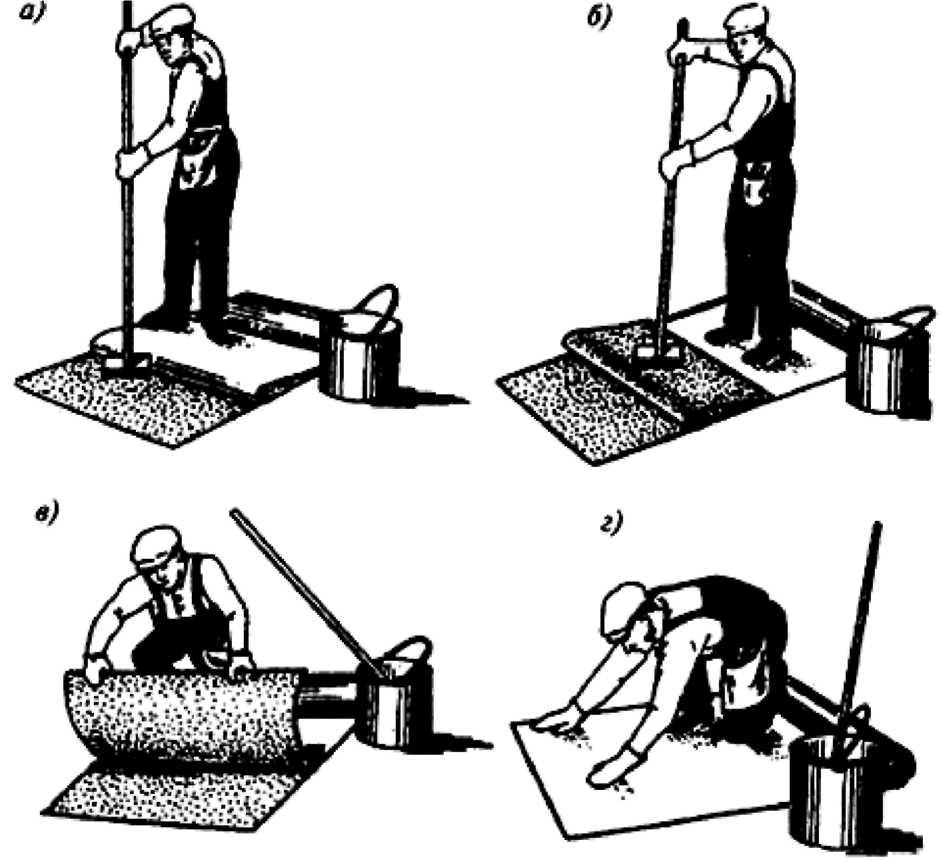 Покрытие крыши рубероидом, как сделать ремонт кровли, марки материала, как стелить, фотографии и видео