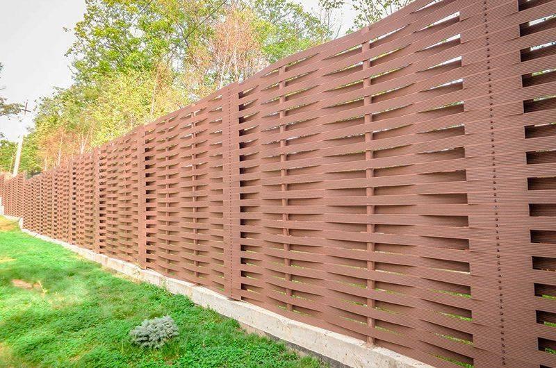 Деревянный забор — какой построить