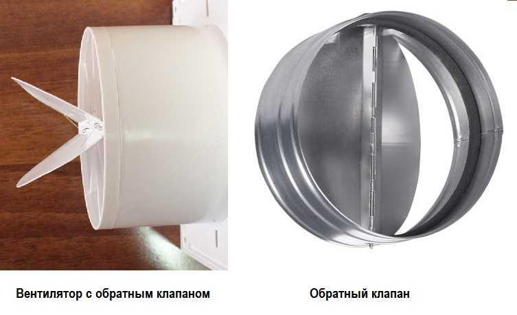 Обратный клапан для вентиляции: назначение, устройство, типы, установка