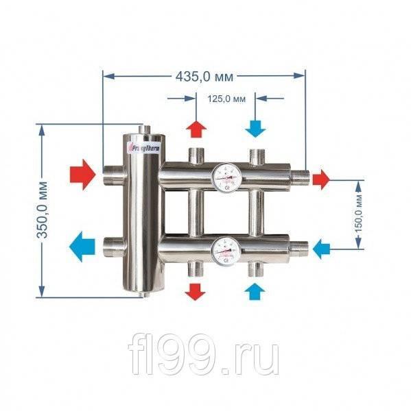 Расчет гидрострелки для отопления | всё об отоплении