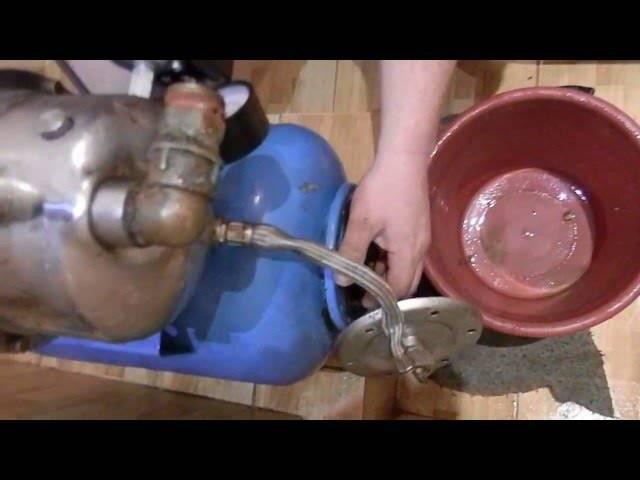 Как найти поломку и отремонтировать гидроаккумулятор для систем водоснабжения