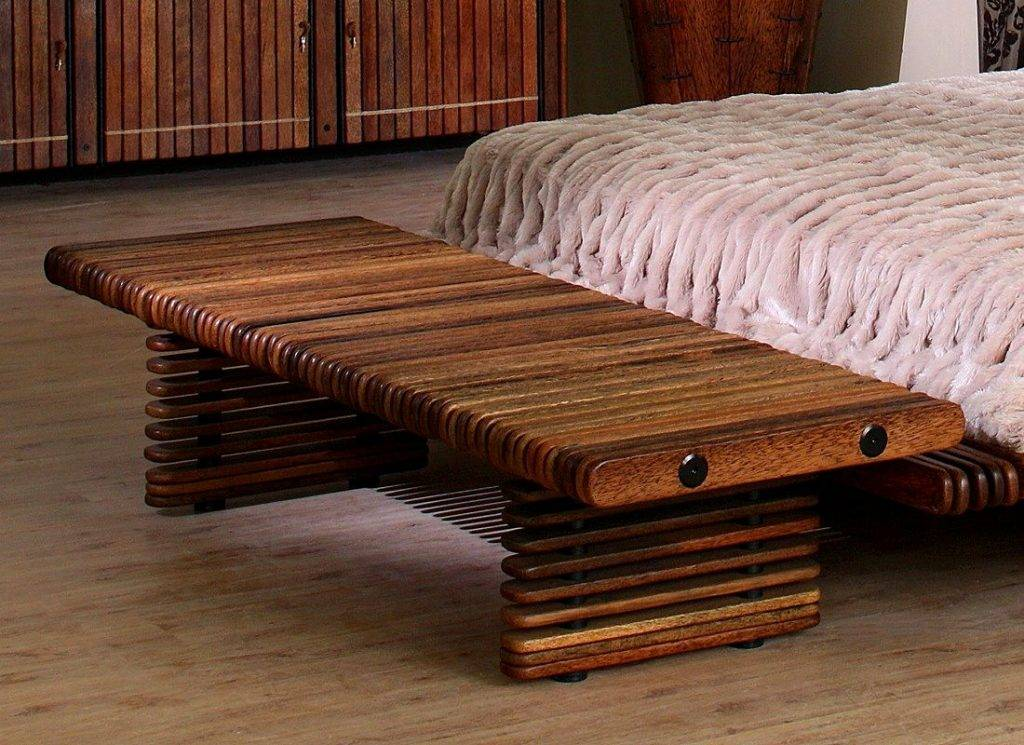 Мебель из массива дерева своими руками