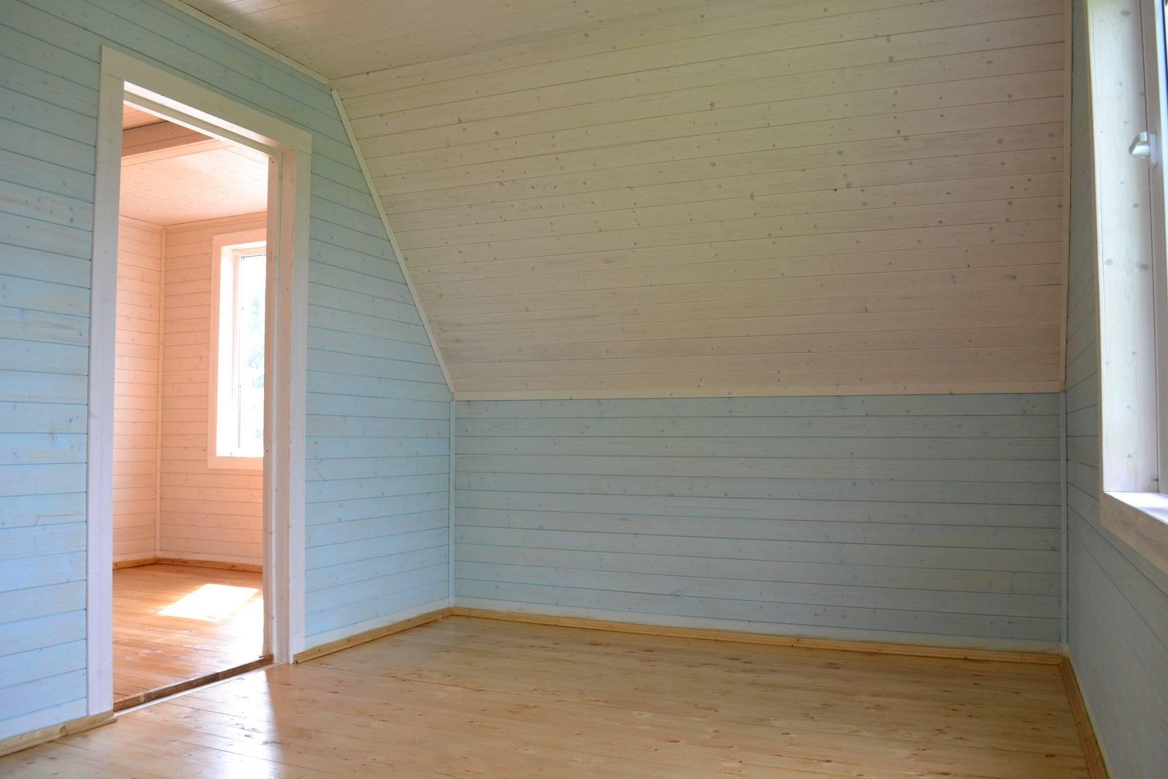 Узнаем, чем правильно покрасить вагонку внутри дома на даче