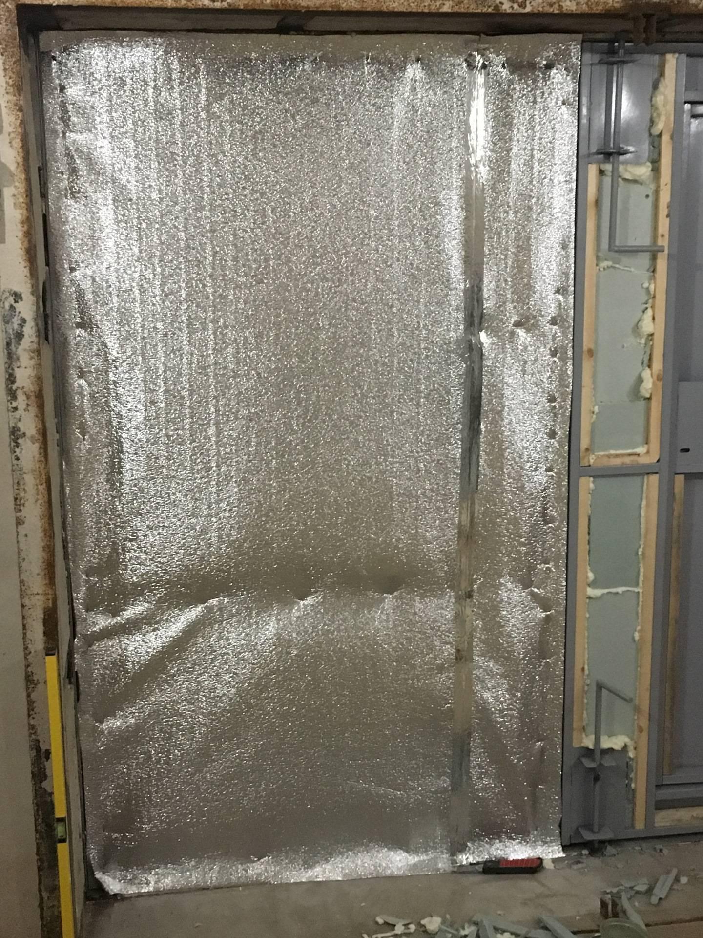 Утепление ворот гаража своими руками: выбор материала, пошаговая инструкция