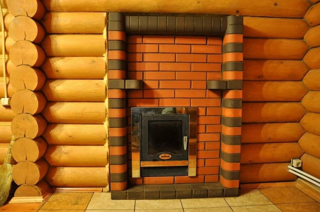 Как обложить печь в бане кирпичом: обкладка железной печки, кирпич для облицовки металлической печи, обложенная печь на фото и видео