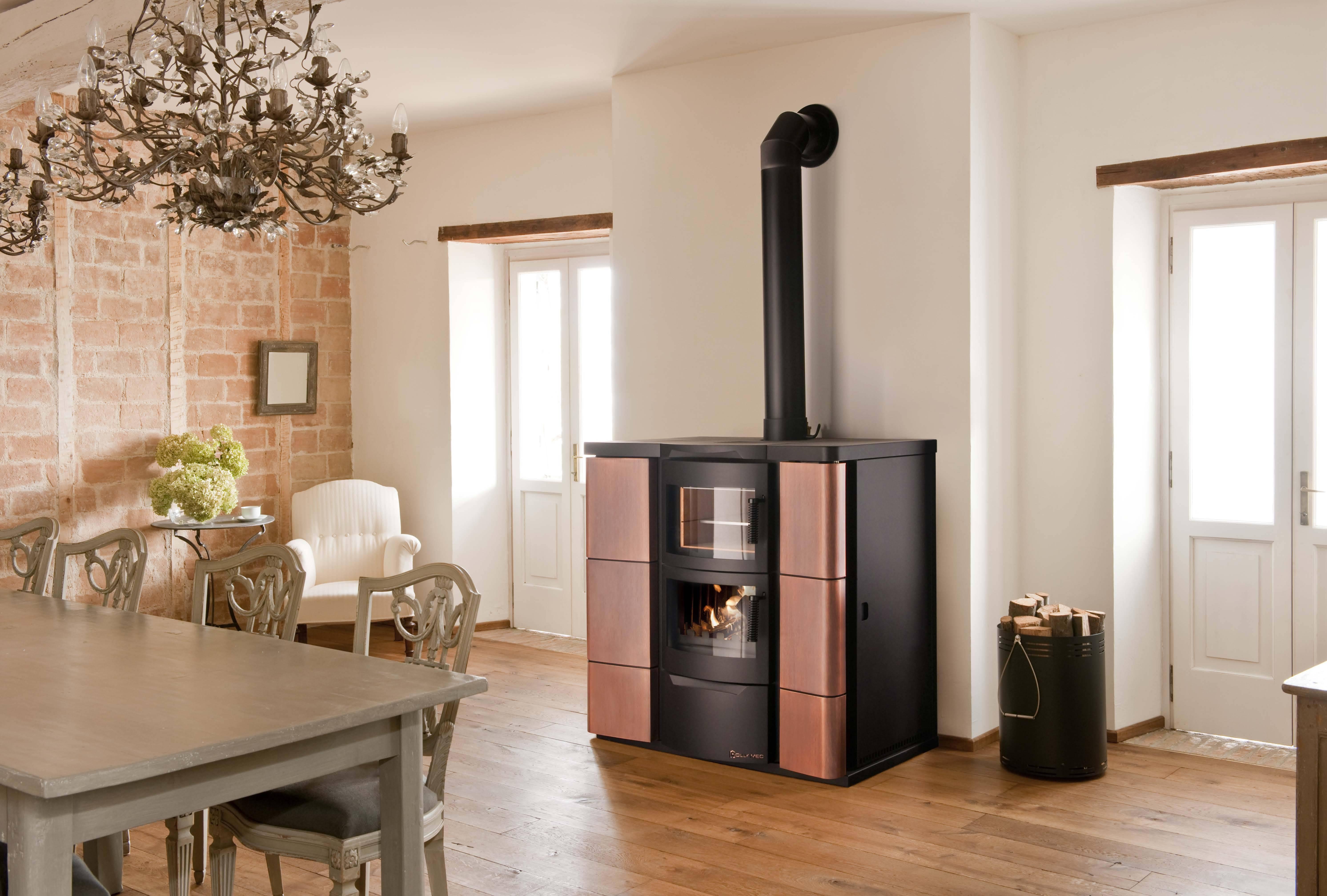 Особенности дровяных печей для отопления дома