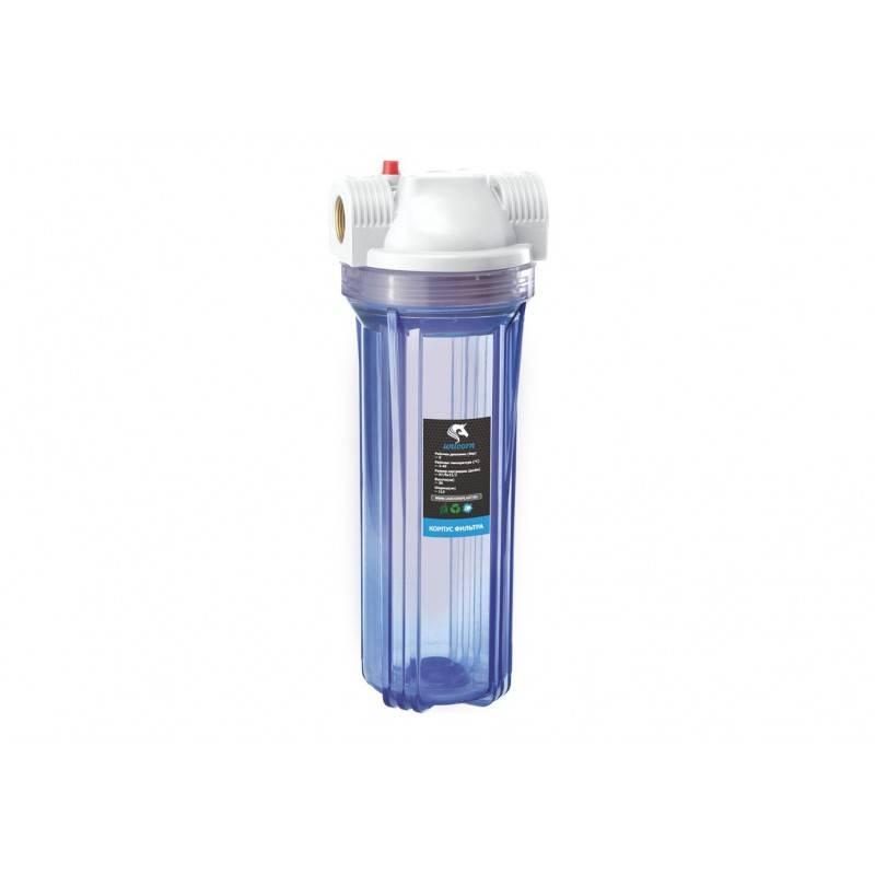 Проточный магистральный фильтр для воды