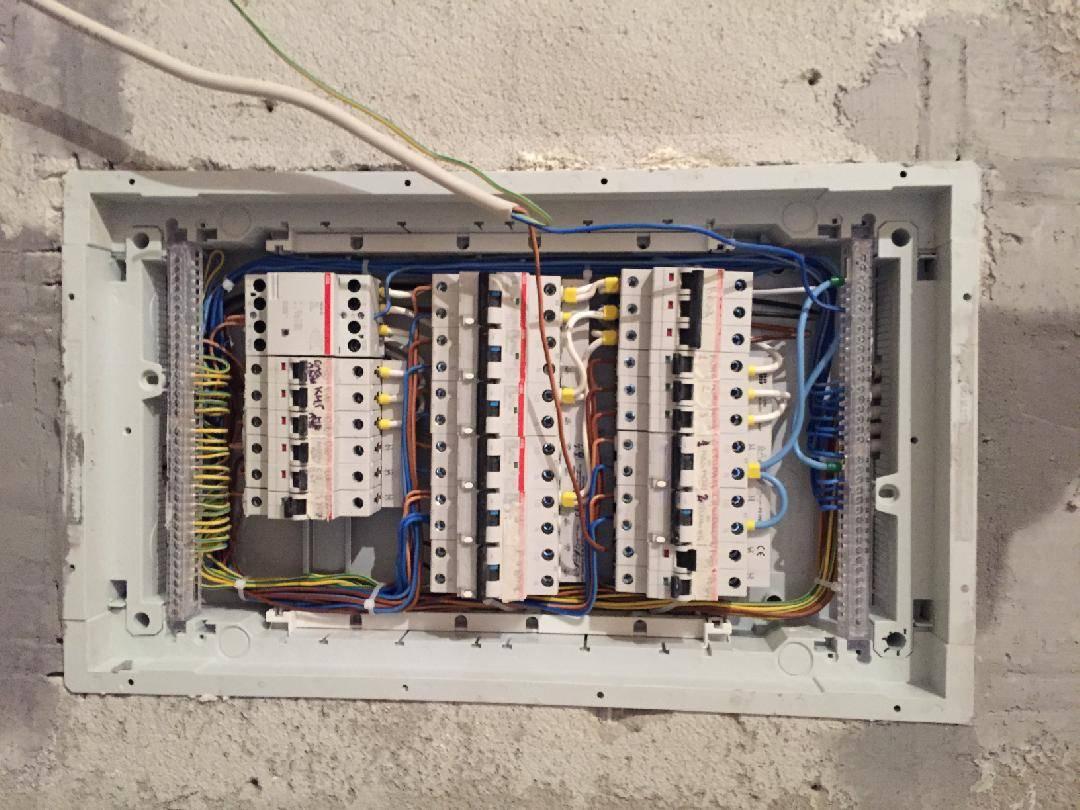 Сборка электрощита для частного дома 380 в 15 квт