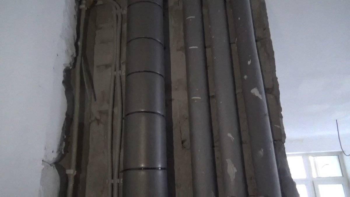 Шумоизоляция канализационного стояка: способы звукоизоляции труб