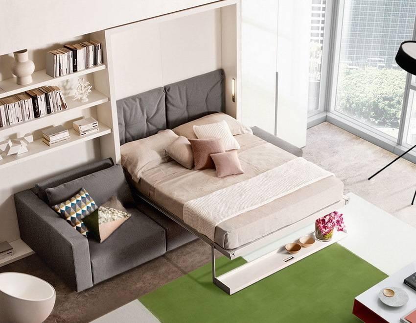 Мебель-трансформер, что собой представляет, преимущества