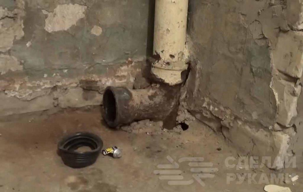 Пошаговое руководство: как соединить чугунную трубу канализации с пластиковой