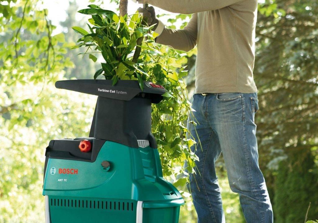 Электрический садовый измельчитель веток: секреты выбора