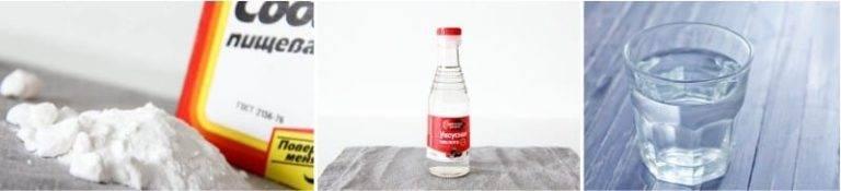 Как прочистить сливные трубы при помощи уксуса и соды