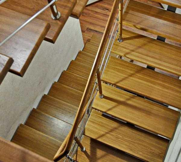 Обшивка лестницы на металлокаркасе: выбор материала, монтаж
