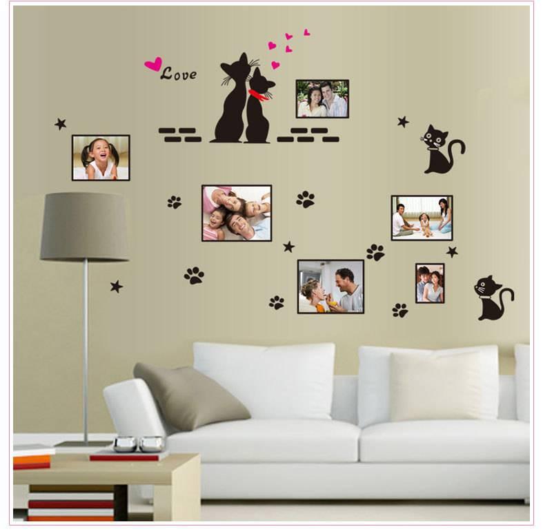 Декоративная отделка стен бумагой