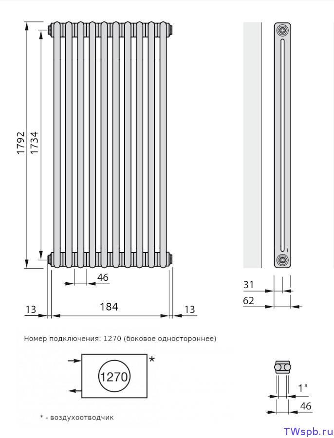 Немецкие радиаторы отопления zehnder charleston