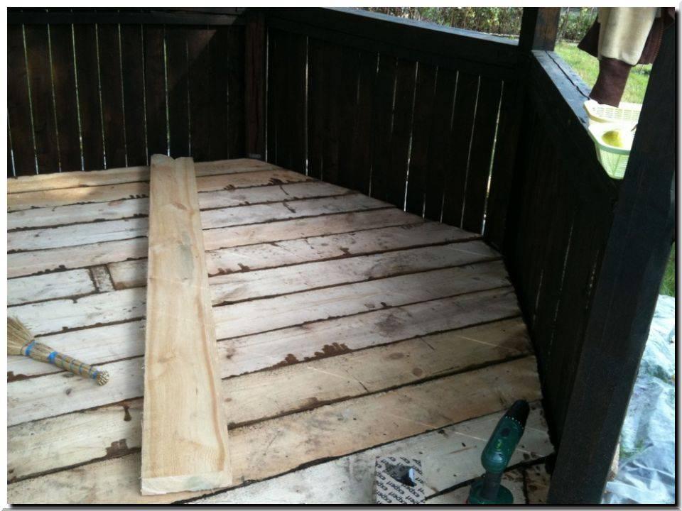 Как сделать пол в беседке: способы обустройства деревянного и бетонного основания