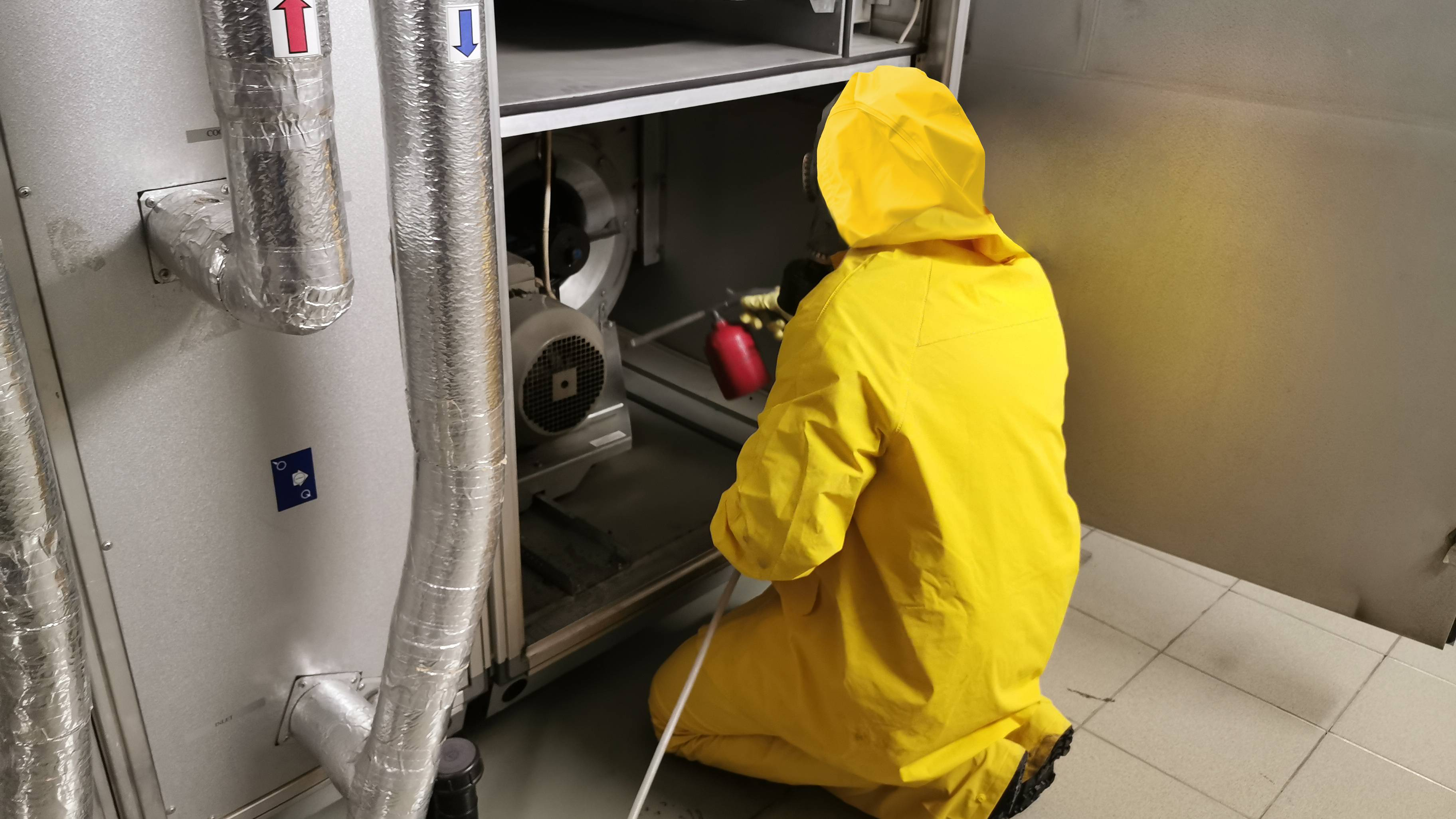 Как часто нужно проводить дезинфекцию воздуховода