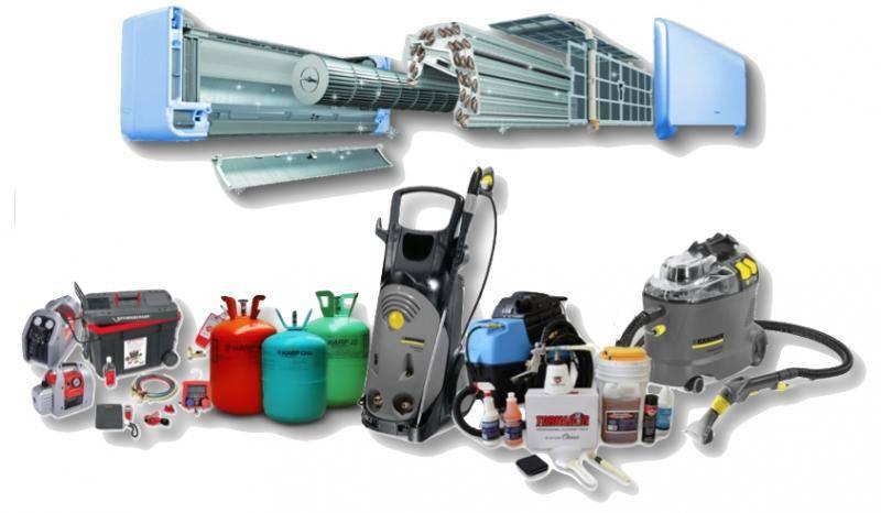 Набор инструментов для монтажа кондиционеров, для обслуживания и ремонта, заправки фреоном