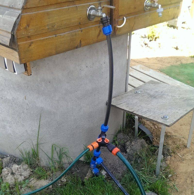 Летний водопровод на даче - как проложить и обустроить систему летнего водоснабжения