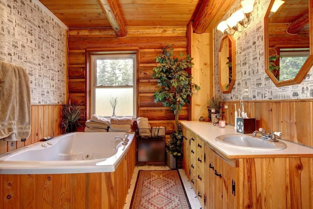 Пол в ванной комнате в деревянном доме — устройство и материалы (фото, видео)